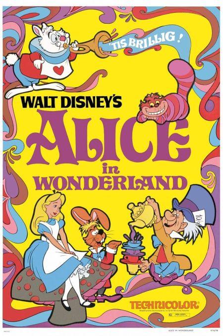 Poster Disney 1974